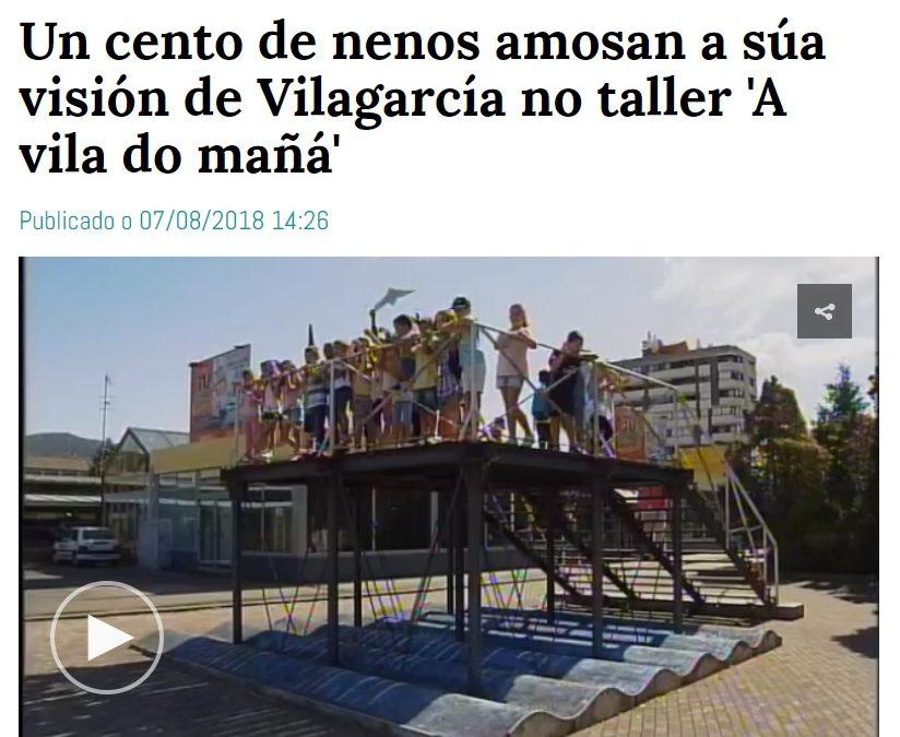 A Vila do Mañá na TVG