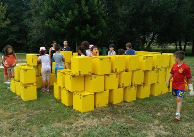 Transformando a vila traballando con ELEMENTOS TRIDIMENSIONAIS