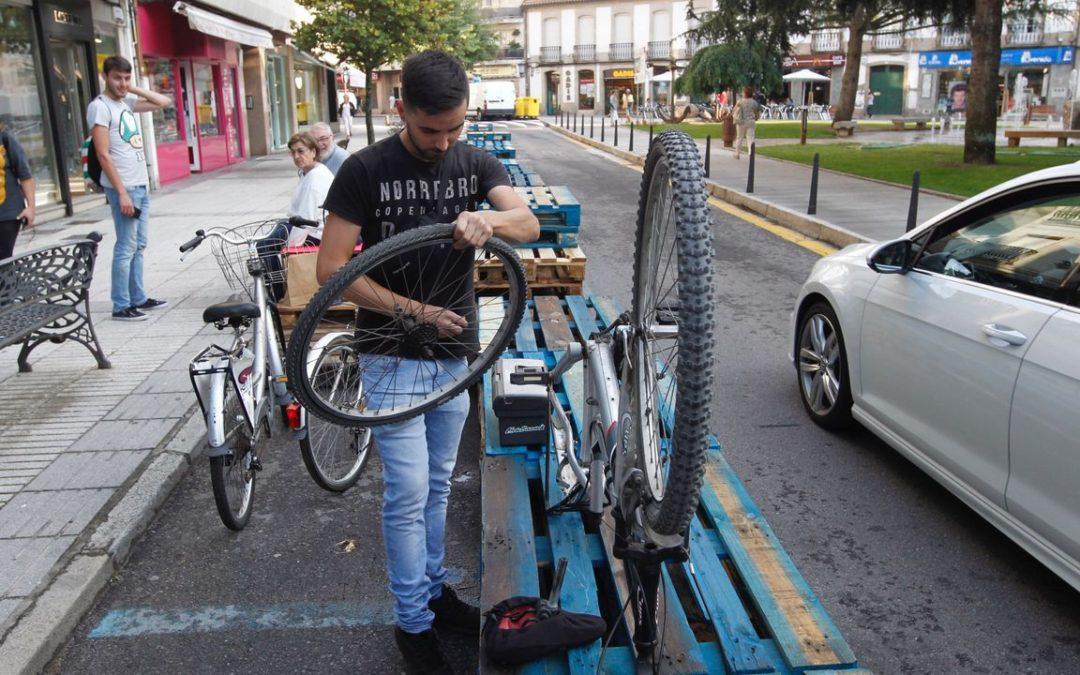 A Semana da Mobilidade de Vilagarcía