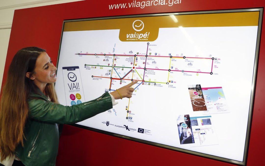 Vilagarcía completa su esquema de movilidad con el metrominuto Vaiapé!
