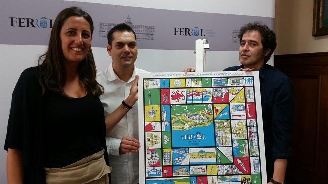 Presentado en el Concello de Ferrol el proyecto educativo «A vila do mañá»