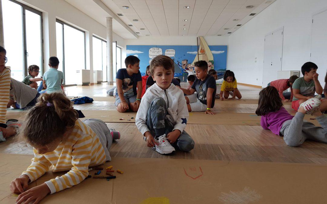 """Unos 30 niños participan en los talleres de urbanismo """"A vila do mañá"""""""