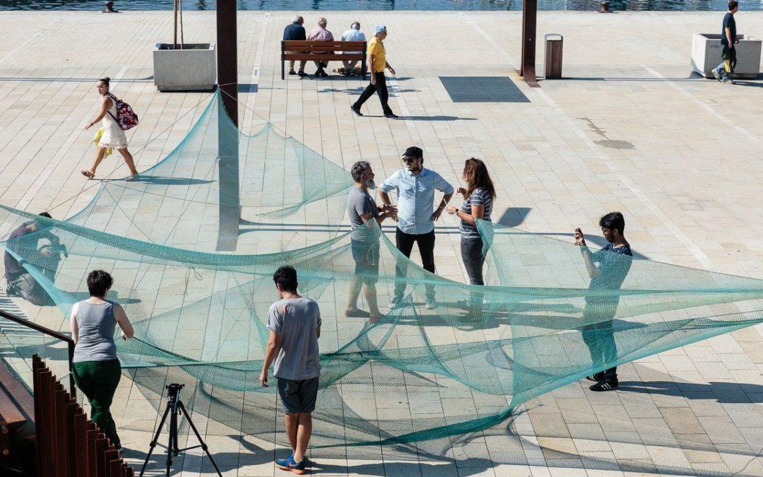 La reurbanización de las casas de los maestros de Rianxo incluirá un área de ocio con redes recicladas