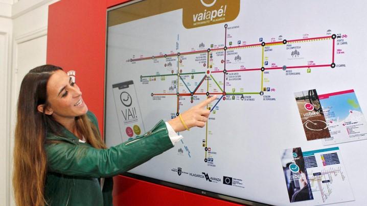 Editan 17.000 ejemplares del Vaiapé, el metrominuto de Vilagarcía
