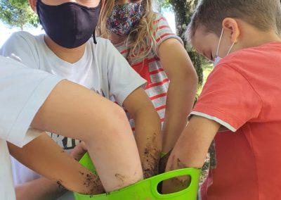 Transformando a vila traballando co ELEMENTOS NATURÁIS